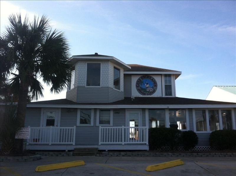 Gulf Highlands Beach Resort Club House (located on beach front)