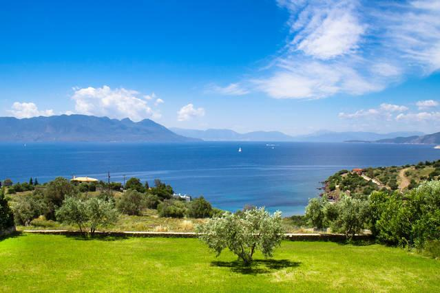View on the Peloponnese