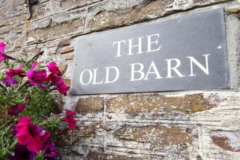 The  Old Barn, vacation rental in Tintagel