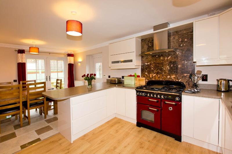 Modern fitted kitchen with everything you need