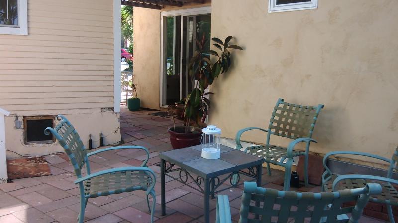 Tranquillo patio appartata