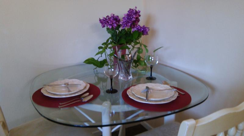Tavolo da pranzo accogliente