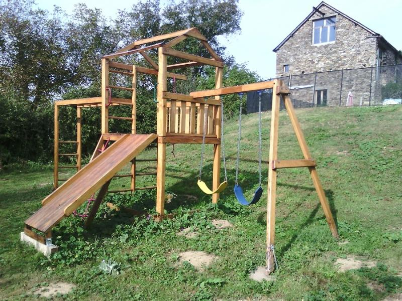 One of 3 children's play areas