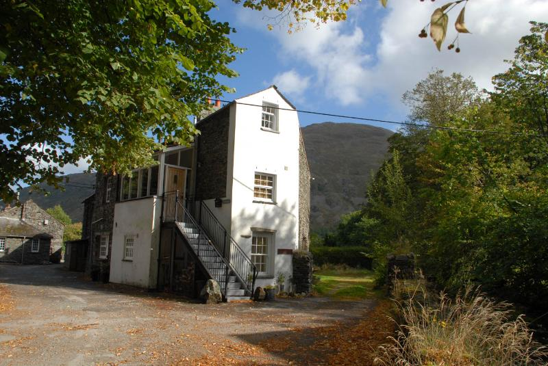 Dovedale apartment .... hidden away in a quiet group of houses in the Ullswater valley