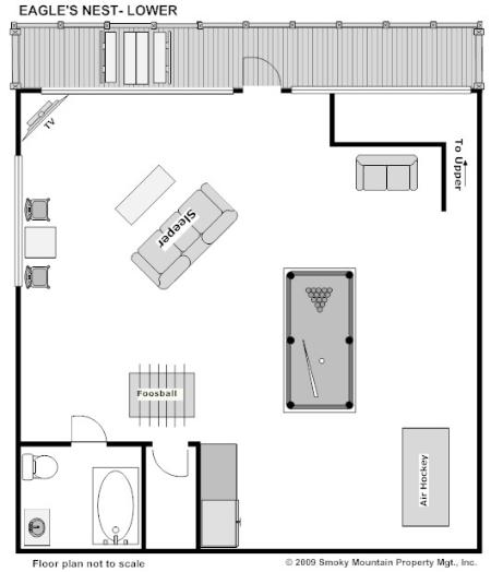 One Bedroom Cabins In Pigeon Forge: Eagles Nest UPDATED 2019: 2 Bedroom Cabin In Pigeon Forge