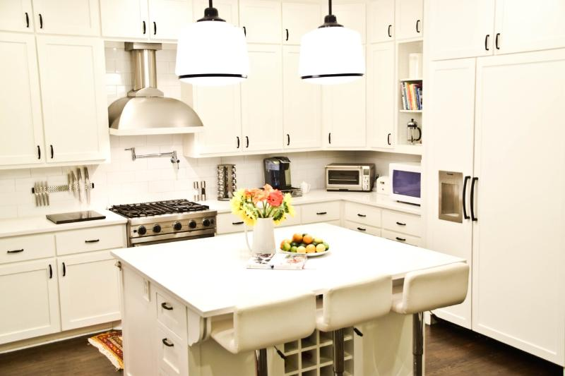 The Chef's Kitchen: State-of-the-art, fully equipped, spacious area with island