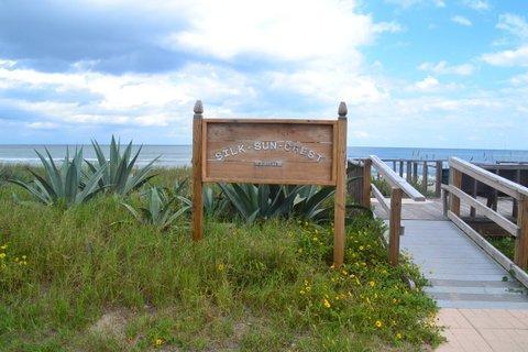Accesso alla spiaggia privata