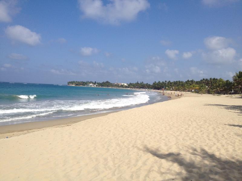 Cabarete beach bay