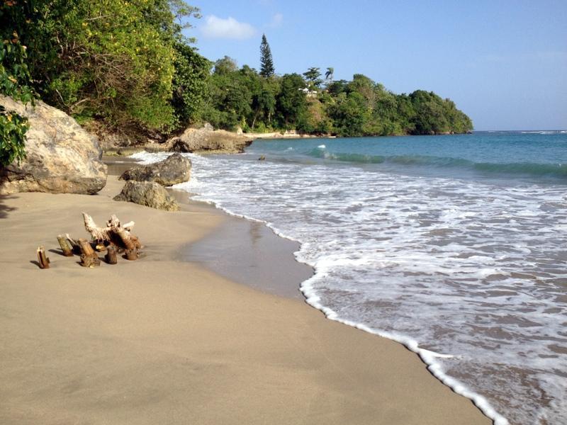 local beach, 5 minute walk