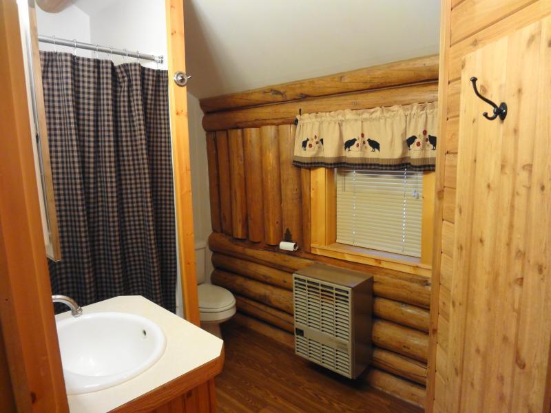 first floor bathroom stall shower