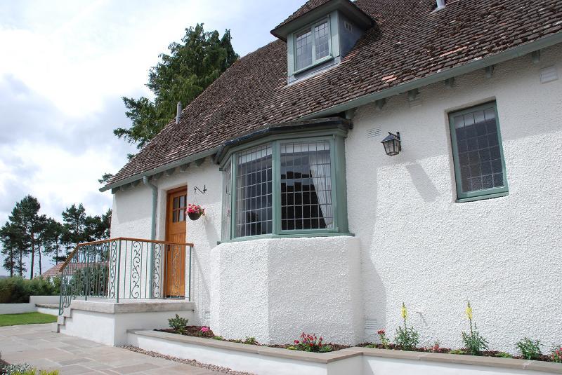 Exterior of Baillie Scott Cottage