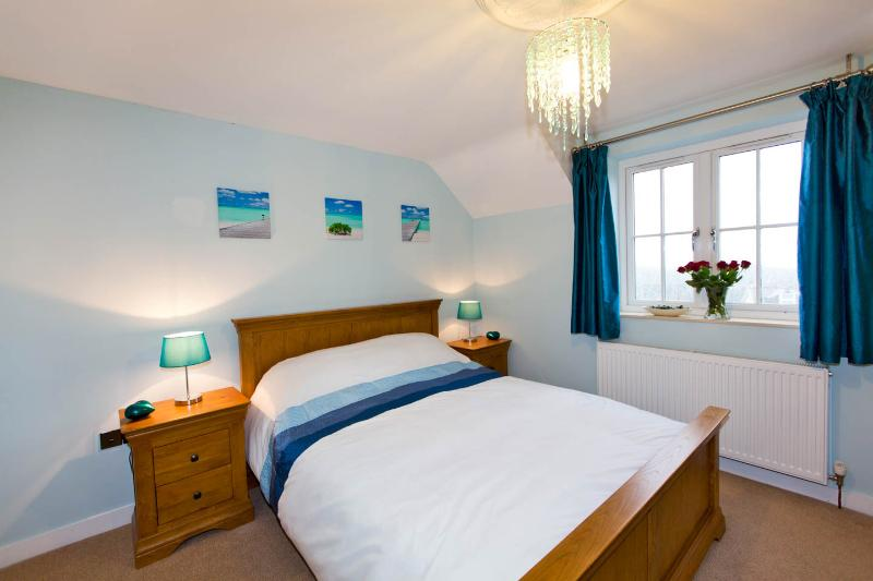 Bright Master Bedroom with sea views and a lovely ensuite