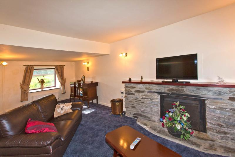 Large comfortable lounge with flat screen TV