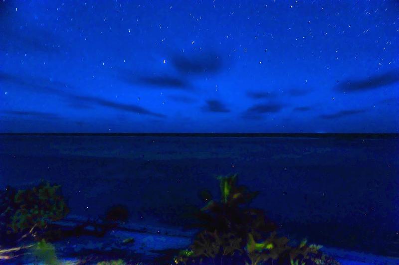 Night Sky.  Le Ciel la nuit.