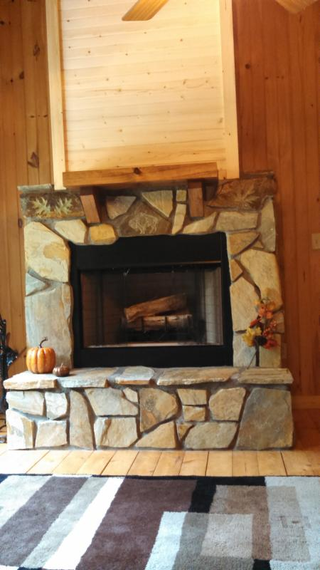 Wood-burning fireplace in the loft, FREE firewood