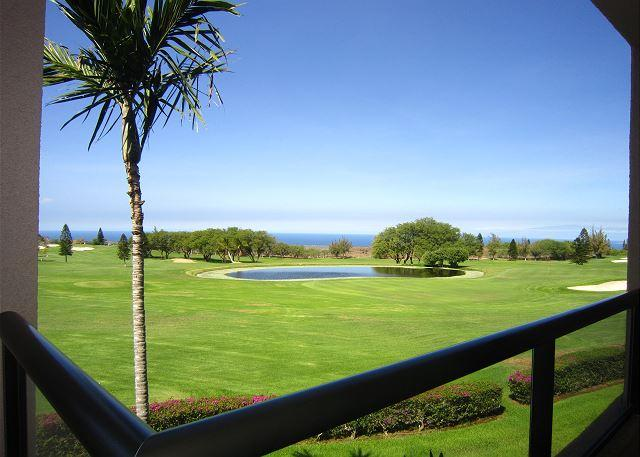 Beautiful golf course and ocean views!