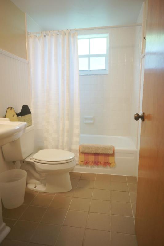 Cabaña estilo baño