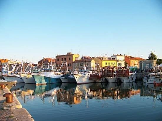 Il porto antico di Fano.