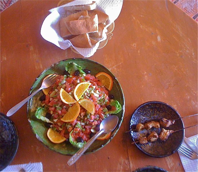 Salada tradicional