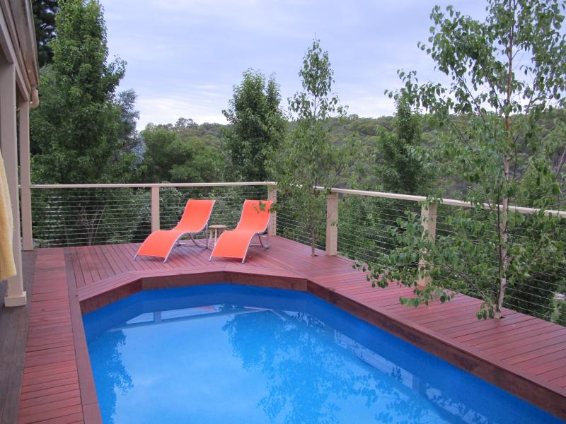 Your own totally private for YOUR USE ONLY salt water, solar heated POOL