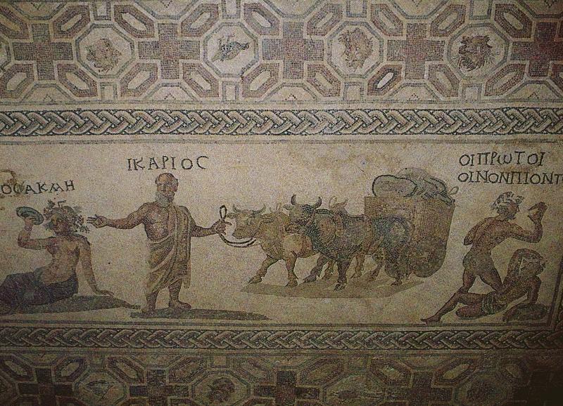 Unesco Protected Mosaics in Local Area