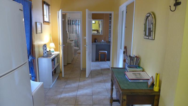 Entry area looking towards bedroom 1 & bedroom 2 bathroom
