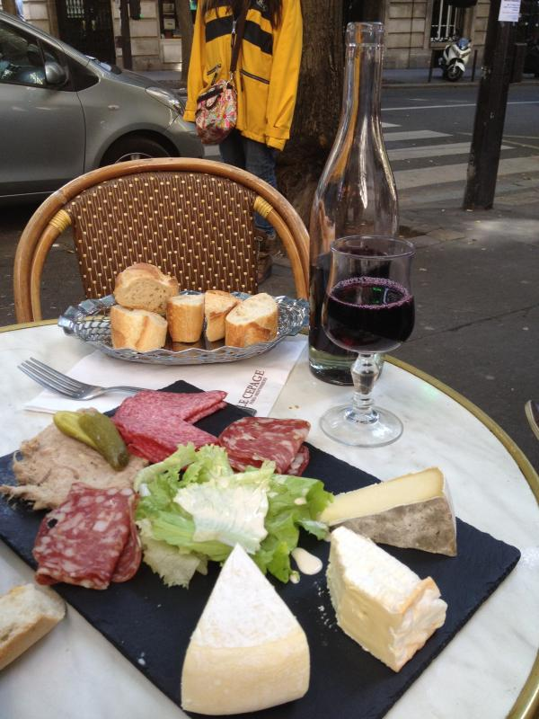 Relax with local wine and food