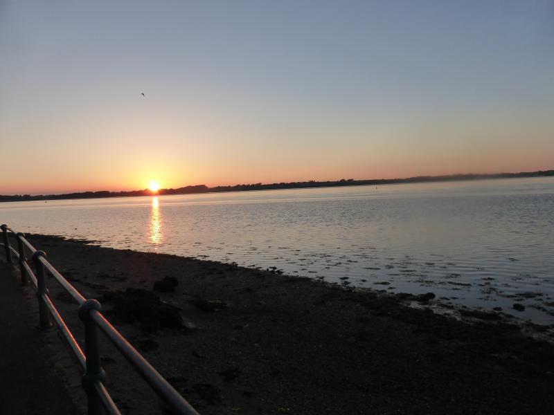 Sunset in Caernarfon