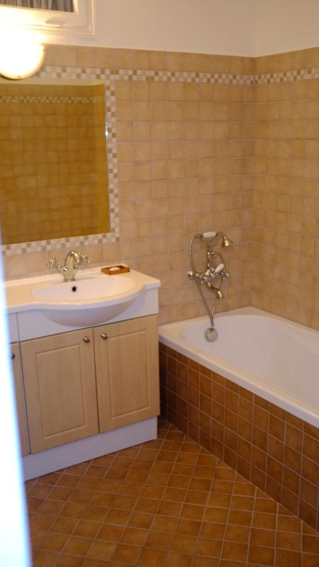 Bathroom #1 Bathtub, separate shower, basin and heated towel rail. Separate toilet.