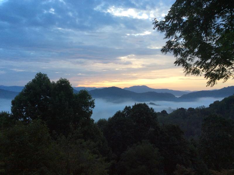 Early fall sunrise