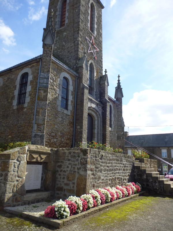 Our lovely old village church. Now used for funerals / weddings / mass every 2 months only.