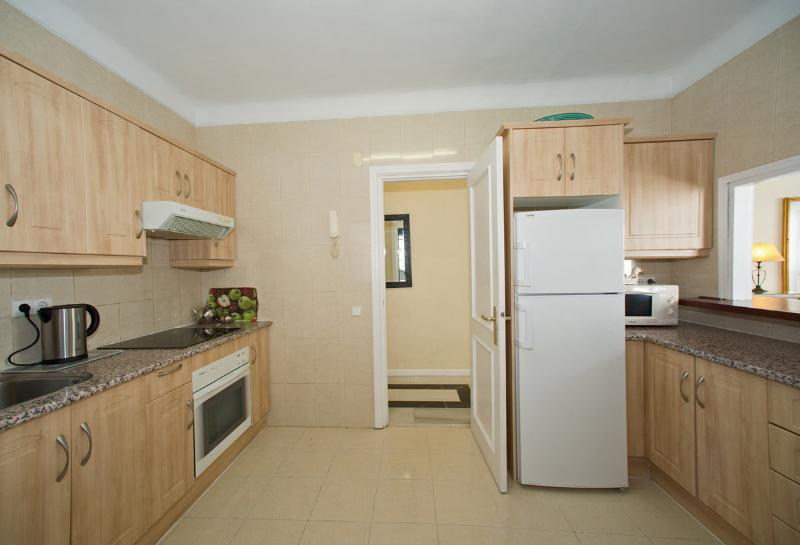 Spaciously modern and fully equipped Kitchen with separate Utility Room.