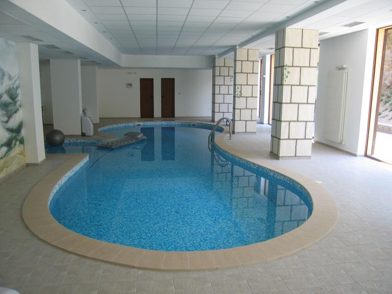 Heated Indoor Swimming pool for free use of guests