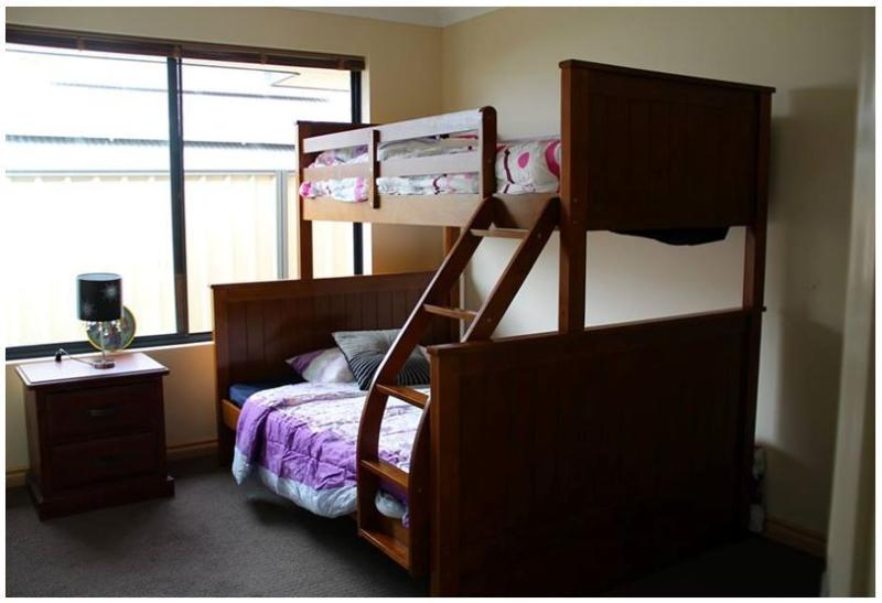 Bunk Bed and Double bed (For Adult and child or children)
