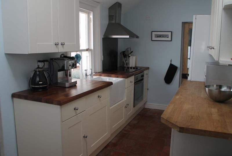 Kitchen with utility room and downstairs loo
