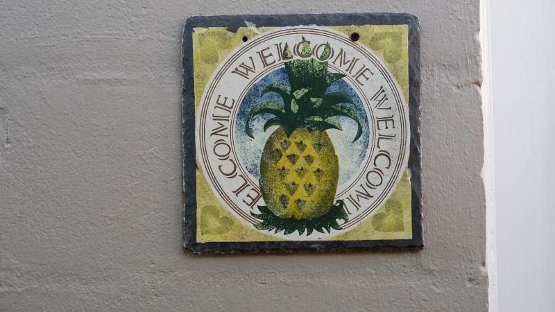 Ananas het symbool van gastvrijheid