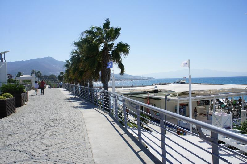 6,561 feet sea front promenade close to accommodation (approx. 650 feet)
