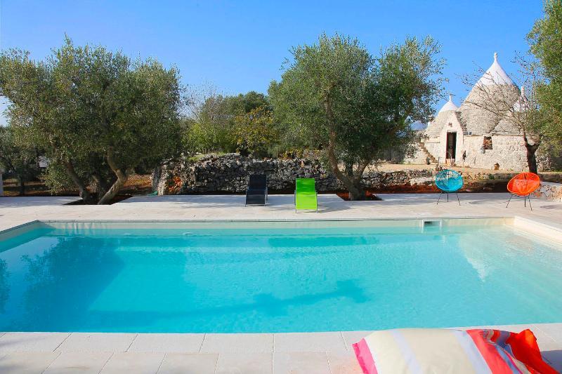 Swimming pool and trullo