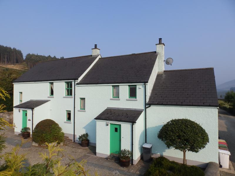 Houses 3 and 4 at Tory Bush Cottages.