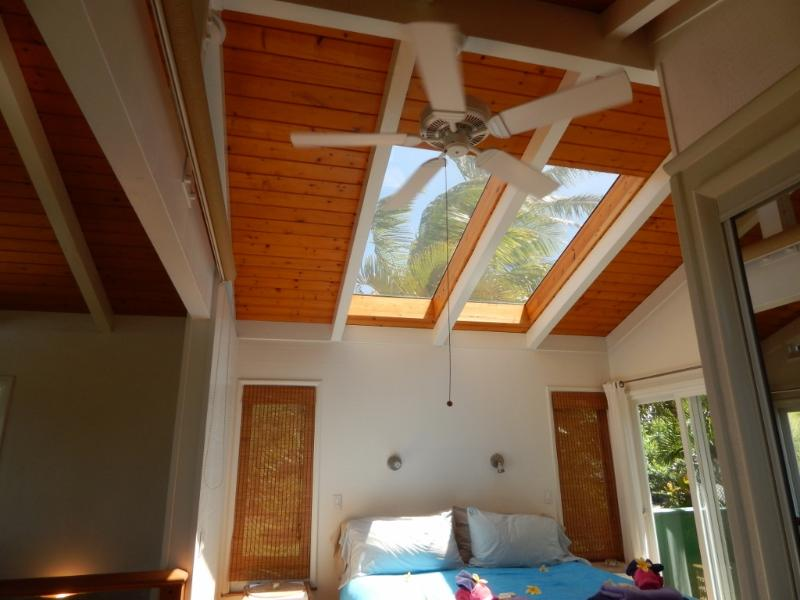 6 foot skylights for star gazing in bed