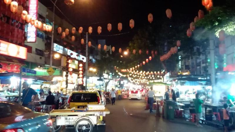 The famous eataries Jln Alor - 10mins walk