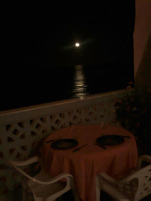 Jantar no terraço