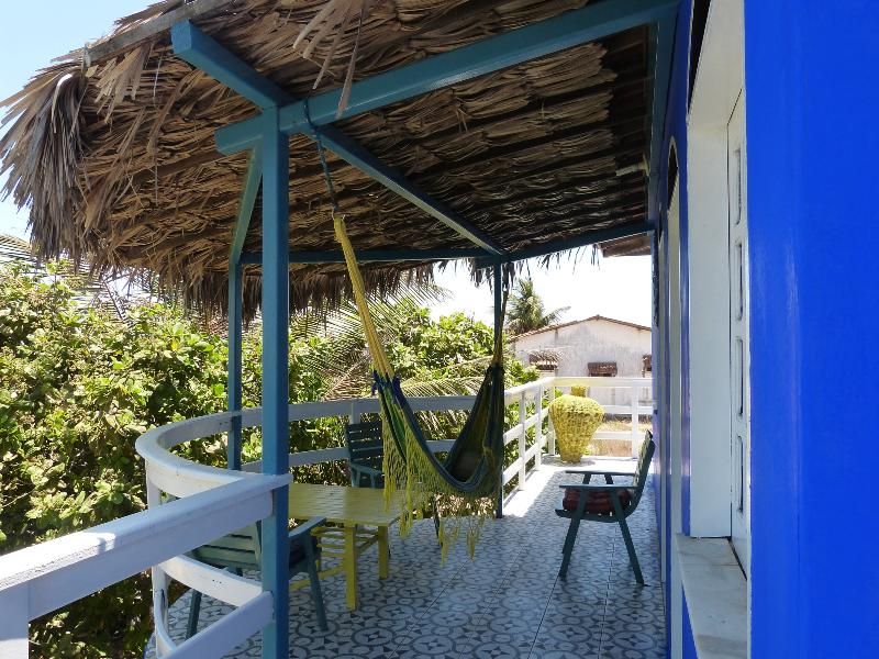 The terrace with hammock, upstairs,main house