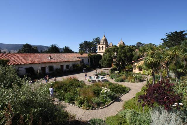 worth a visit to the Carmel Mission...