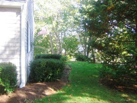 Side of the home  - 29 Forest Beach Road, Ex. Chatham Cape Cod New England Vacation Rentals