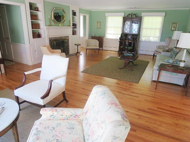 Living room with a view! - Waterfront North Chatham Cape Cod New England Vacation Rentals