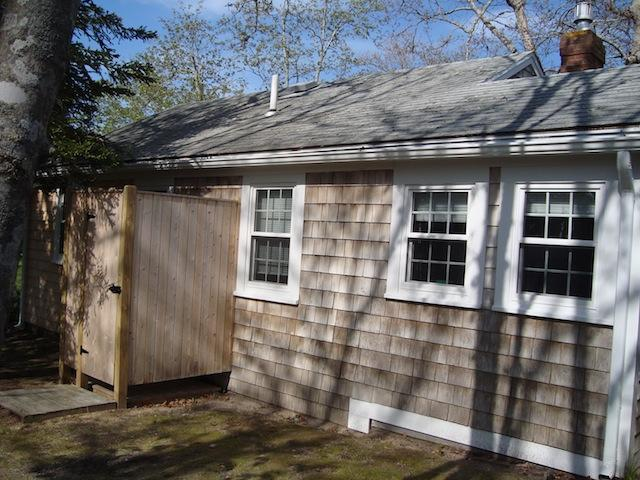 Utomhus dusch - 567 Main Street Unit 2 Harwich Port Cape Cod New England Semesterbostäder