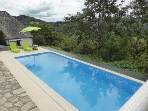 Lovely new pool at La Belle Vue