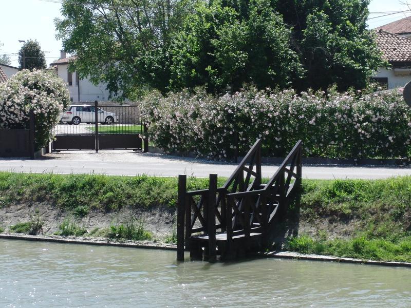 il pontiletto sul Brenta
