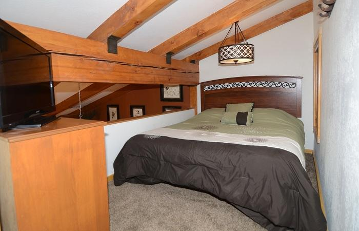 Second Bedroom (Loft) With A Double Bed